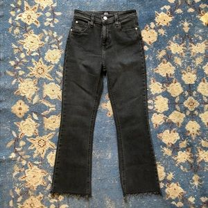BDG High Rise Kick Flare Jeans 24